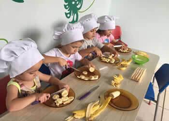 Aula de Culinária para Crianças