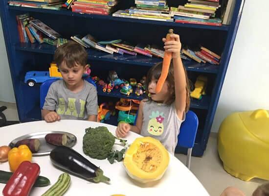 Jardim de Infância com Nutricionista